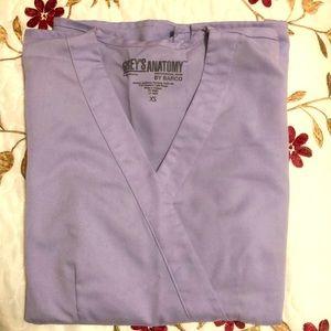 Grey's Anatomy XS scrub top